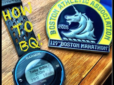 HOW TO QUALIFY FOR THE BOSTON MARATHON | TRAINING TIPS | SAGE RUNNING BQ PLAN