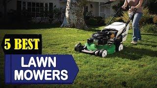 5 Best Lawn Mowers 2018 | Best Lawn Mowers Reviews | Top 5 Lawn Mowers