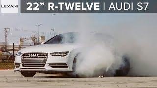 """Audi S7 on 22"""" Custom R-Twelve Satin Bronze LEXANI Wheels (2019)"""