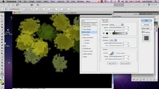 How To Make Trees From An Aerial Perspective In Photoshop : Adobe Photoshop
