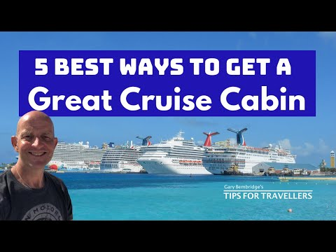 Finding The Best Cruise Cabins. 5 Steps To Cabin Heaven Not Cabin Hell!