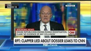 BREAKING: CLAPPER MISLEADS CONGRESS ON CNN STEELE DOSSIER TESTIMONY