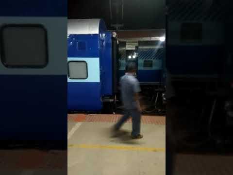 Attaching Engine to Passenger Train