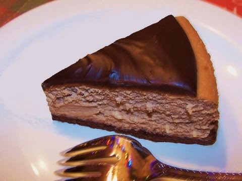 Bailey's Irish Cream Chocolate Cheesecake - gluten free
