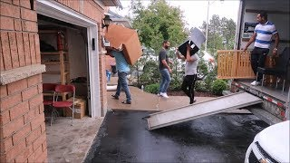 MOVING TO NEW HOUSE IN CANADA | PART -2 | IRMAN GILL |