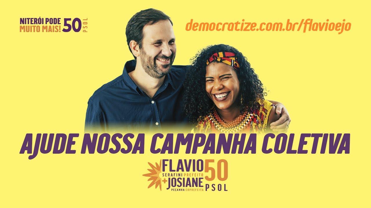 Contribua com a campanha coletiva de Flavio e Jô para a prefeitura de Niterói 2020