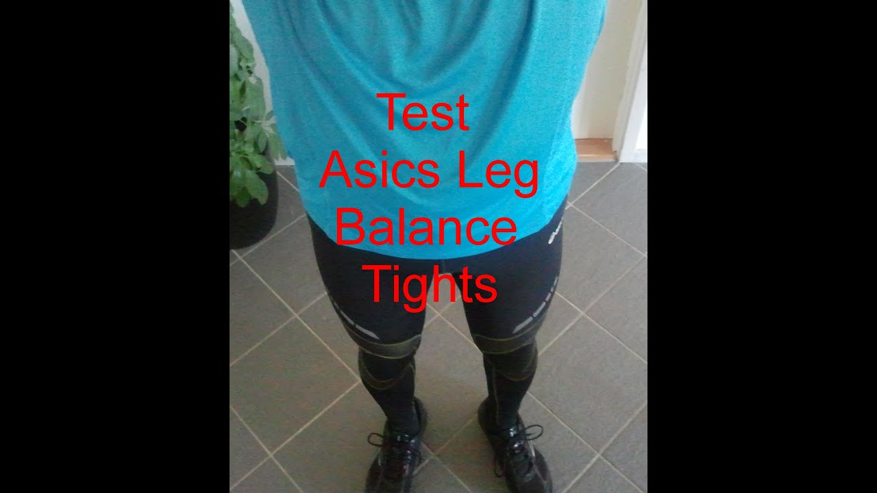 asics leg balance