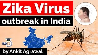 Zika Virus outbreak in India - 13 cases reported in Kerala - Current Affairs for UPSC & Kerala PSC