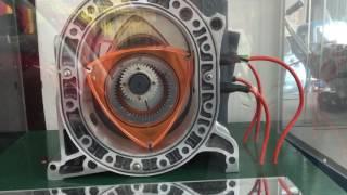 Mazda rotary engine model