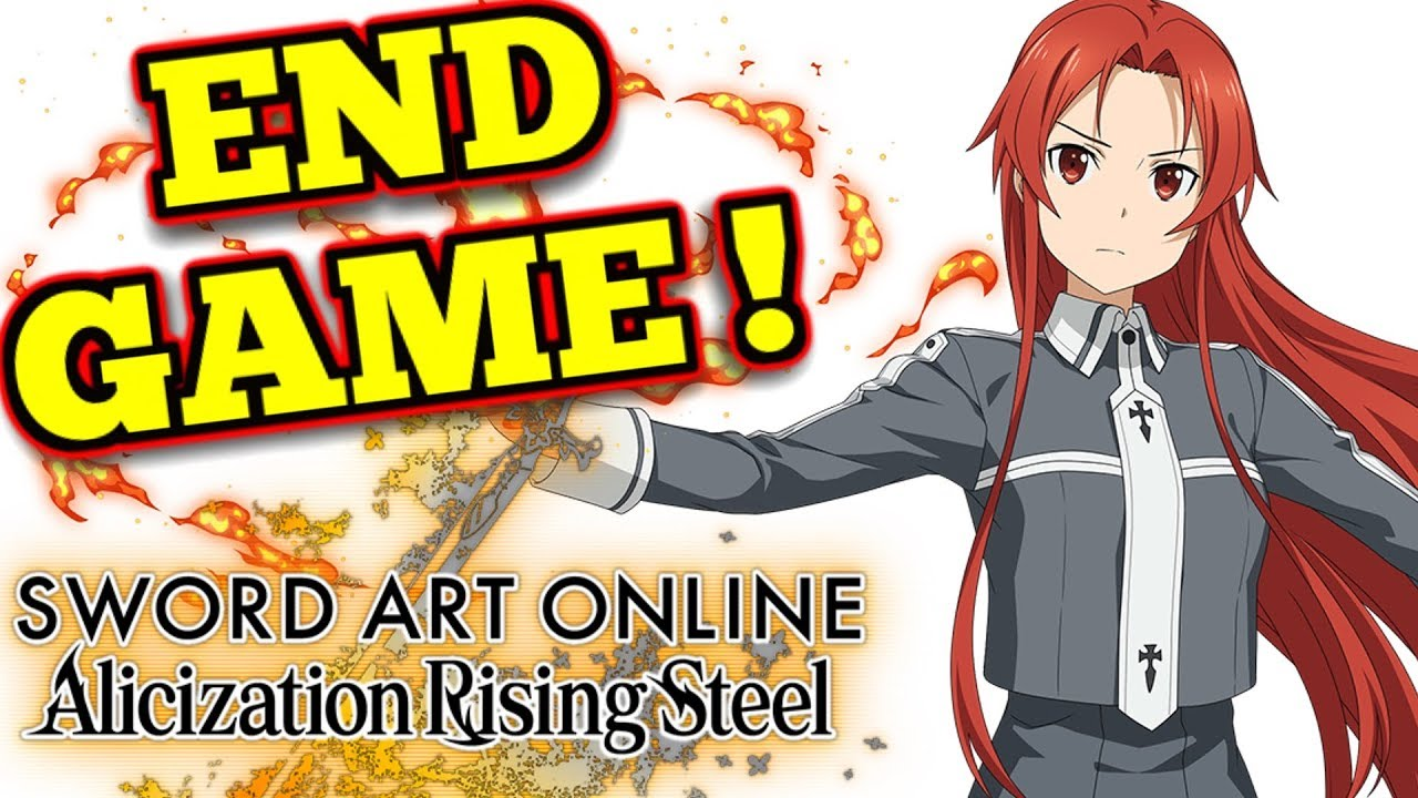 Cathedral Assault Pvp Sword Art Online Alicization Rising Steel Youtube