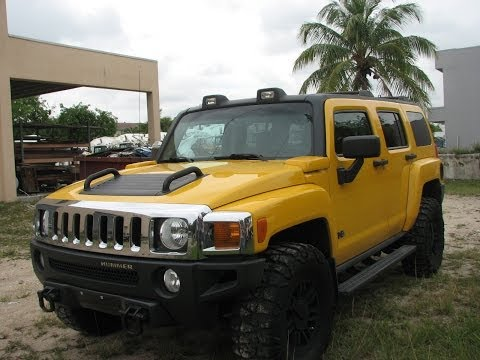 Hummer H3 2006 Yellow - My Mint Car