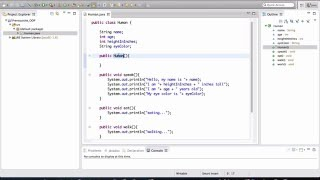 Java - OOP Basics 1/5 (Class and Object)