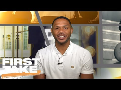 Eric Gordon Joins First Take | eric gordon
