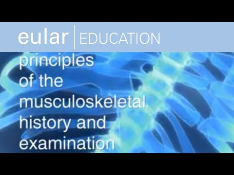 EULAR School of Rheumatology: Principles of the Musculoskeletal History and Examination