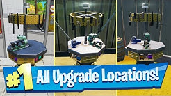 Upgrade an Item at a Weapon Upgrade Bench (All Bench Locations) - Fortnite Battle Royale