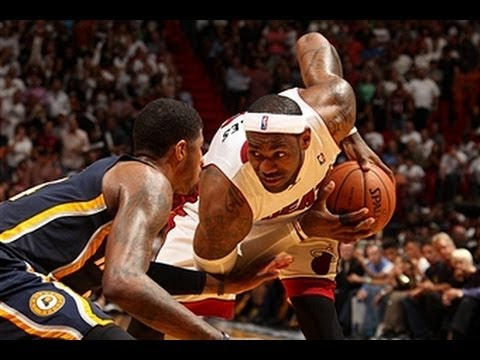 LeBron James and the Heat Beat the Rival Pacers