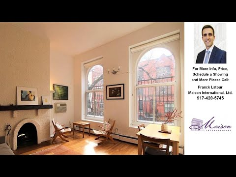 143 West 95th Street, New York, NY Presented by Franck Latour.
