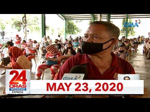 24 Oras Weekend Express: May 23, 2020 [HD]