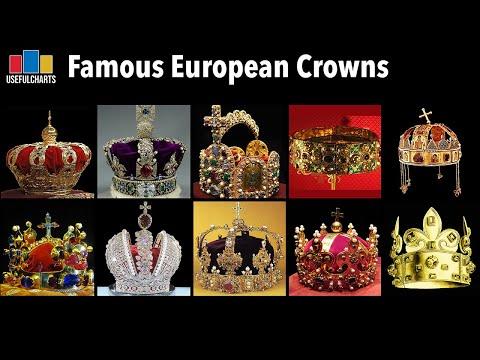 Famous European Crowns
