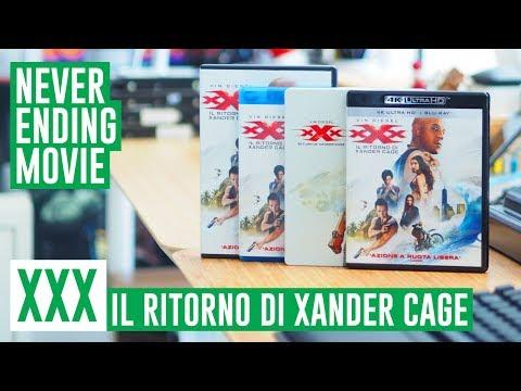 XXX - Il Ritorno di Xander Cage: Edizioni Blu-Ray e DVD speciali #NeverEndingMovie streaming vf