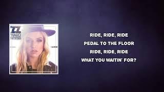 ZZ Ward - Ride (Lyrics )