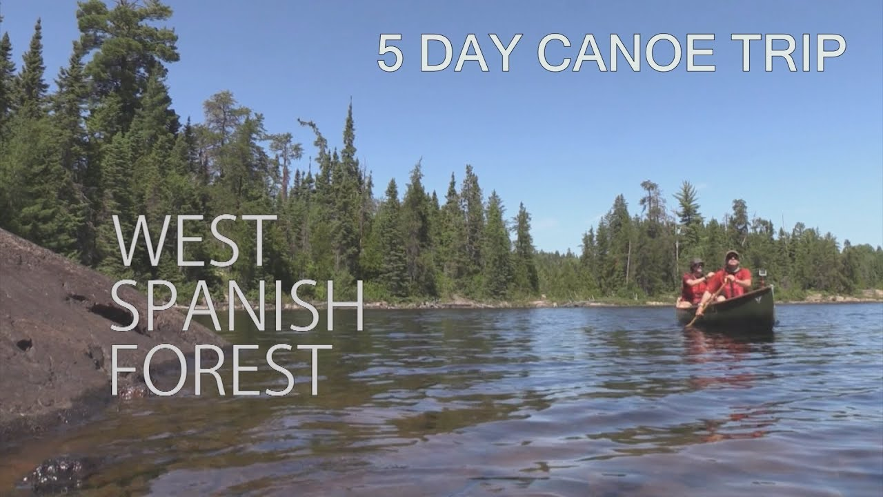 View topic - Video - West Spanish Forest | Canadian Canoe Routes