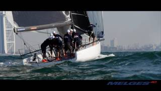 The Melges 40 — The fastest 40 footer on the planet.
