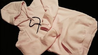 Part 2 Overlock How to sew Sweatshirt, Raglan Hoodies Kangaroo Jak uszyć bluze raglan kaptur owerlok