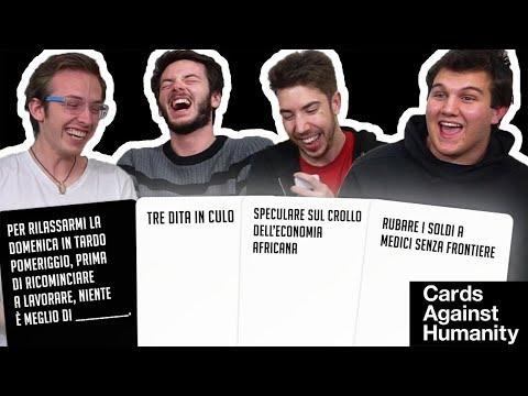 CARDS AGAINST HUMANITY: il gioco del bl4ck humour!