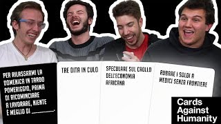 CARDS AGAINST HUMANITY: il gioco del black humour!