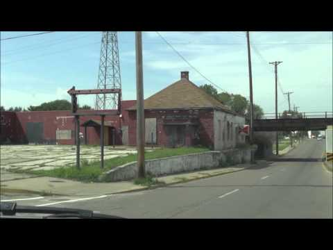 Riding around East St Louis, IL