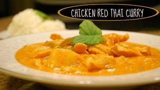 Easy Chicken Thai Red Curry Recipe