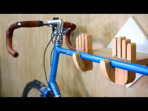 Build a Bike Wall Mount, Bike Rack Hanger