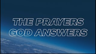 180 LIVE | The Prayers God Answers
