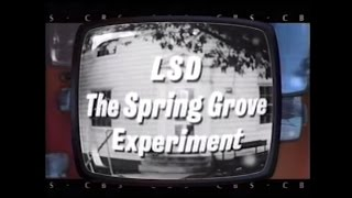 """LSD: The Spring Grove Experiment"" 1965 CBS Reports - FULL HOUR"