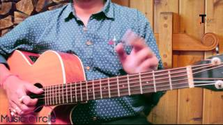 Gilehriyaan (Dangal) guitar lesson | Fingerstyle riff n detailed theory explanation |