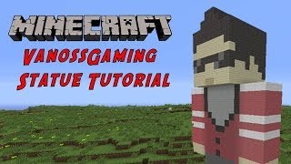 minecraft tutorial vanossgaming gta character statue