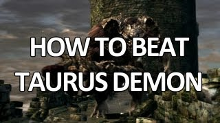 Dark Souls - Taurus Demon - Easy Kill