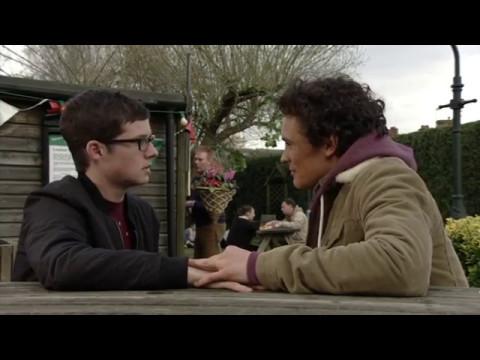 Ben and Paul  Kisses