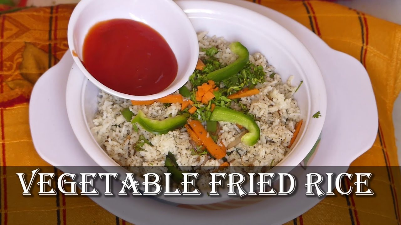 Vegetable fried rice recipe in kannada restaurant style veg vegetable fried rice recipe in kannada restaurant style veg fried rice by triveni patil youtube forumfinder Choice Image