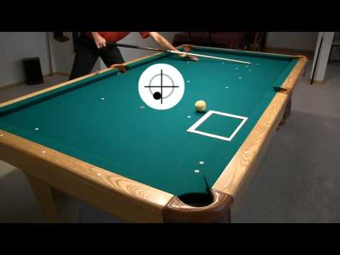 Cue Ball Control Target Pool Drill - From Vol-II Of The BU Instructional DVD Series
