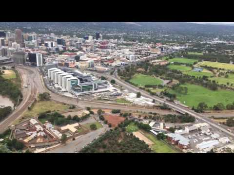 Approach & Landing At Adelaide Airport