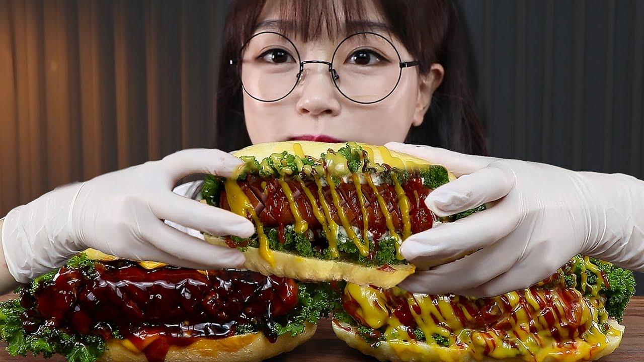 뉴욕은 못 가봤지만 뉴욕핫도그는 만들어봤어요🌭먹방 HOMEMADE HOT DOGS MUKBANG | EATING SOUNDS