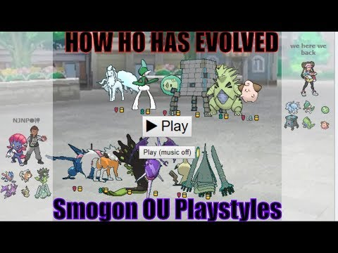 How HO Has Evolved-Hyper Offense In Smogon Ultra Sun and Moon OU w NJNP Sticky Webs,Veil, ETC!