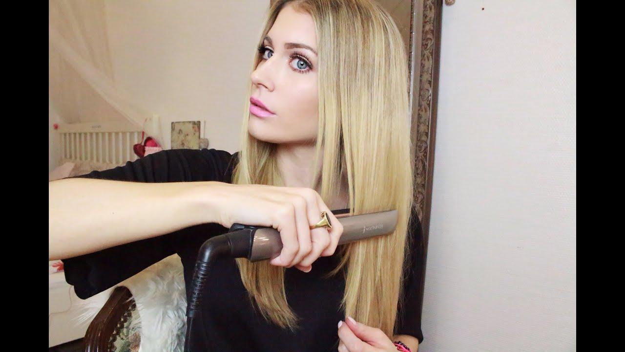 Haare Glätten Ist Gar Nicht Schädlich Bella Youtube