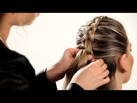 How to Do a Reverse French Braid