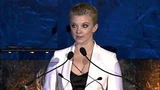 Natalie Dormer - World Humanitarian Day 2016