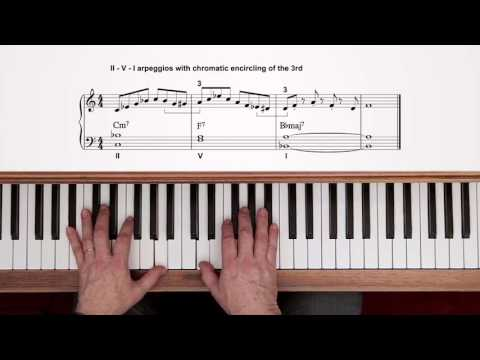 Exploring Jazz Piano Vol 1 – Tim Richards, 4. II-V-I sequences & left-hand shells