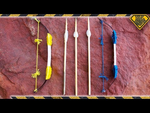 How To Make A Fish On A Stick Toy Cool Palm Leaf Craft