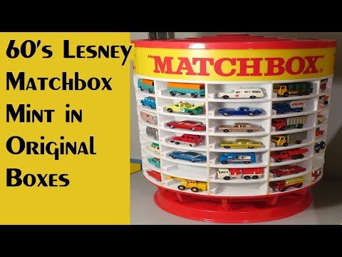 Lesney Matchbox Models – Filling a Huge Order - Video #290 – April 29th, 2018